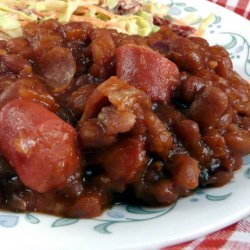 Skillet Beans 'n Weiners recipe