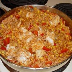 Chicken Taco Rice recipe