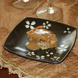 Old Fashion Bread Pudding With Caramel Sauce recipe