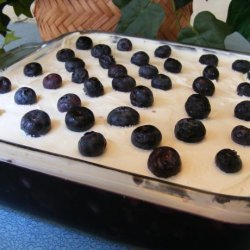 Blueberry Jello Salad recipe