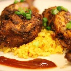 Slow-Cooker Jamaican Jerk BBQ Chicken recipe