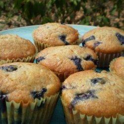 Blueberry Banana Snack Cakes recipe