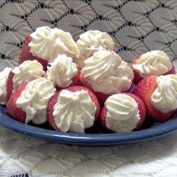 Low Fat Stuffed Strawberries recipe