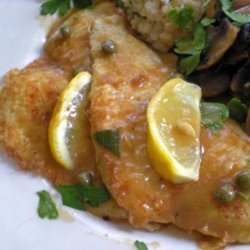 Flounder Francaise or Chicken Francaise recipe