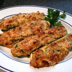 Stuffed Zucchini - Zucchini Ripieni recipe