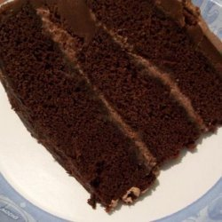 Perfect Chocolate Cake With Whipped Cream Filling recipe