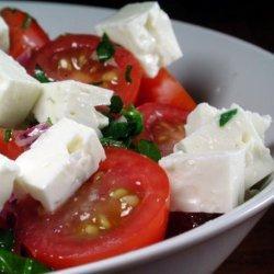 Tomato Feta Salad recipe