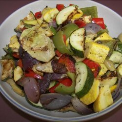 Weight Watchers Roasted Vegetables - 0 Points! recipe