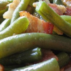 Green Beans With Bacon & Onion recipe