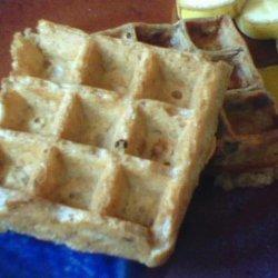 The Best Vegan Oat & Walnut Waffles (Or Pancakes) recipe