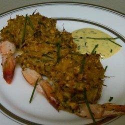 Baked Stuffed Shrimp with Crabmeat Stuffing recipe