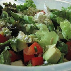 Mexican Salad With Honey Lime Dressing recipe