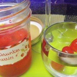 Drunken Cherries Aka Cherry Bomb recipe