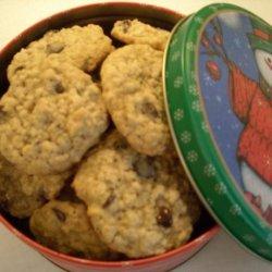 Suzie's Oatmeal Chocolate Chip Cookies recipe