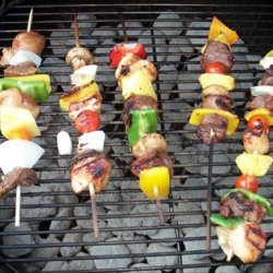Sirloin Steak Kabobs recipe