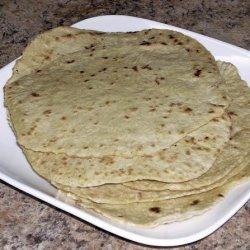 Homemade Spelt Flour Tortillas recipe
