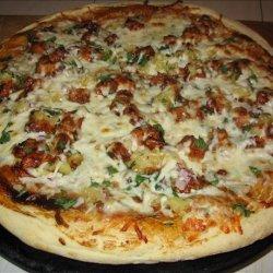 California BBQ Chicken Pizza recipe
