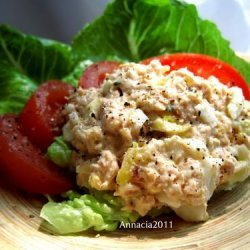 Salmon Egg Salad recipe