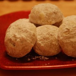 Christmas Snowball Cookies recipe