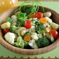 Marinated Vegetables Deluxe recipe