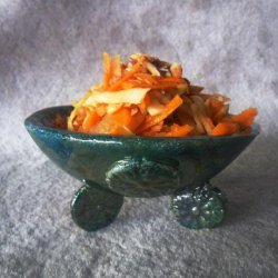 Persian Style Carrot Salad recipe