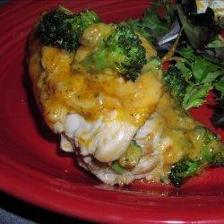Cheese and Broccoli Stuffed Chicken Breast recipe