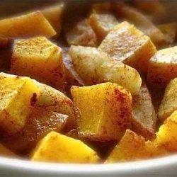 Butternut Apple Casserole recipe