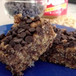 Chocolate Peanut Butter Rice Krispies Treats recipe