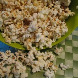 Cinnamon Sugar Popcorn recipe