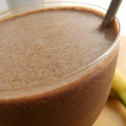 Banana and Chocolate Shake recipe