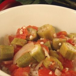 The Lady and Sons Okra and Tomatoes ( Paula Deen ) recipe