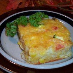 Zucchini Spoon Bread recipe