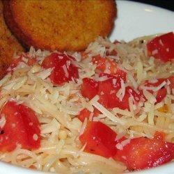 Quick pasta for one recipe