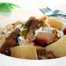 Bayrischer Gulasch: German Goulash Stew - Crock Pot or Oven recipe