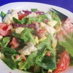 Potluck Cauliflower  and Lettuce Salad recipe