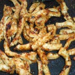 Quick Honey Mustard Pork Stir-Fry recipe