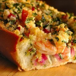 Hot and Crusty Shrimp Sandwich recipe