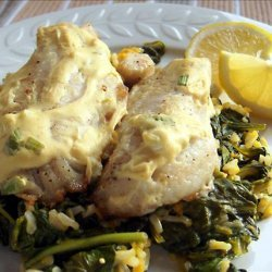 Red Snapper with Mustard Sauce recipe