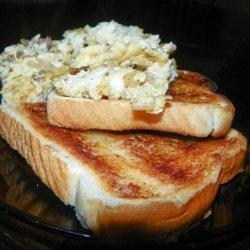 Feta/Bacon Scrambled Eggs for 1 recipe