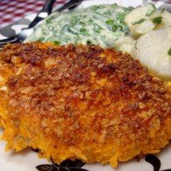 Nacho Cheese Dorito Chicken recipe