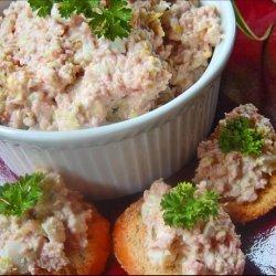 Paula Deen's Best Ham Salad Sandwich recipe