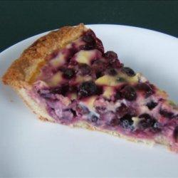 Blueberry Yogurt Pie recipe