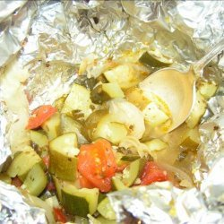 Zucchini Packets for the Grill recipe