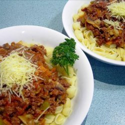 traditional spaghetti bolognese recipe