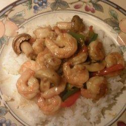Shrimp & Peppers Stir Fry recipe