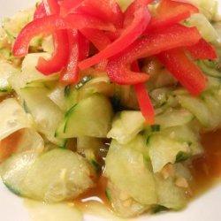 Cold Cucumber Salad recipe