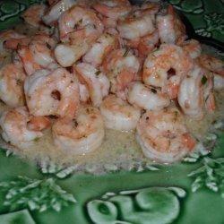 Pan Seared Shrimp With Garlic-Lemon Butter recipe