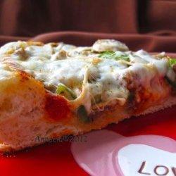 Bread Machine Pizza Crust recipe