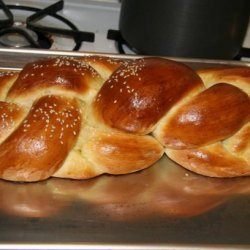 Challah Recipe for the Kitchen Aide recipe