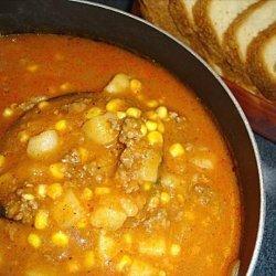Andy's Spicy Potato Soup recipe